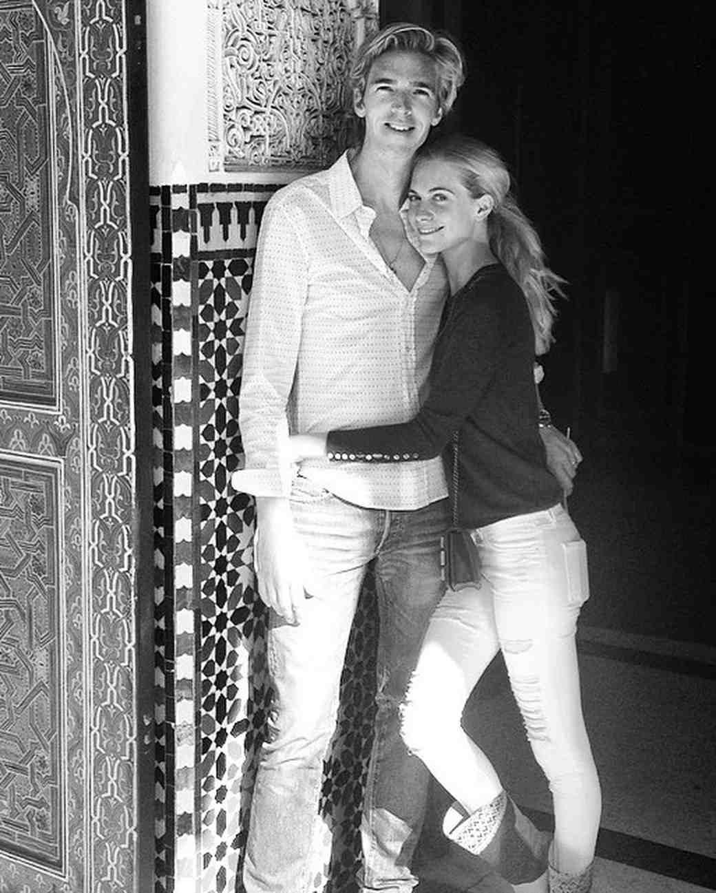 Poppy Delevingne and James Cook on Honeymoon in Morocco
