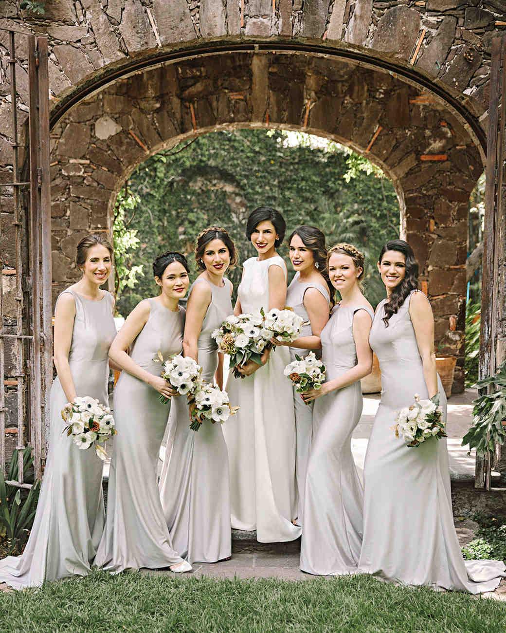 regina chris wedding bridesmaids
