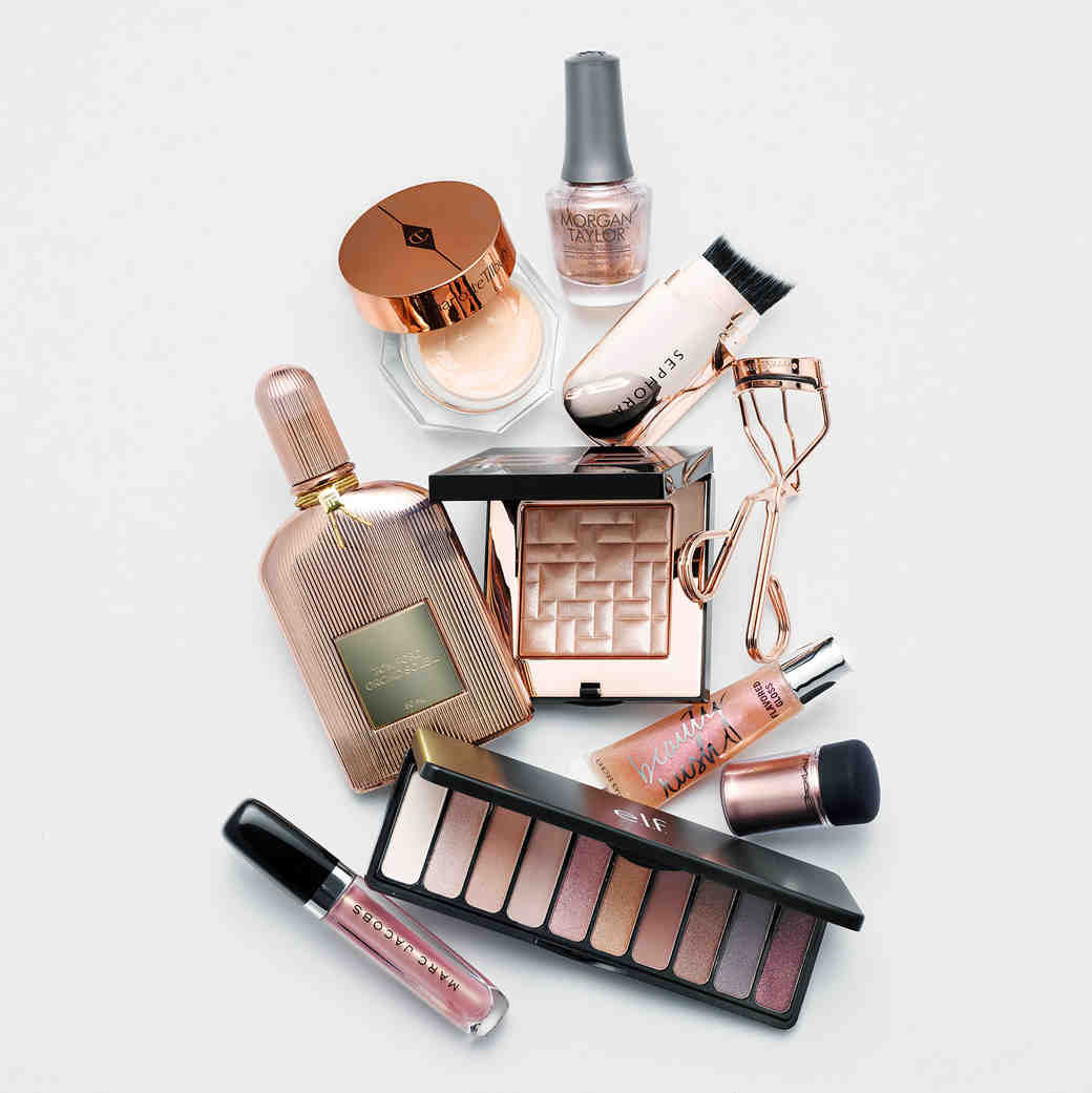 rose gold beauty products