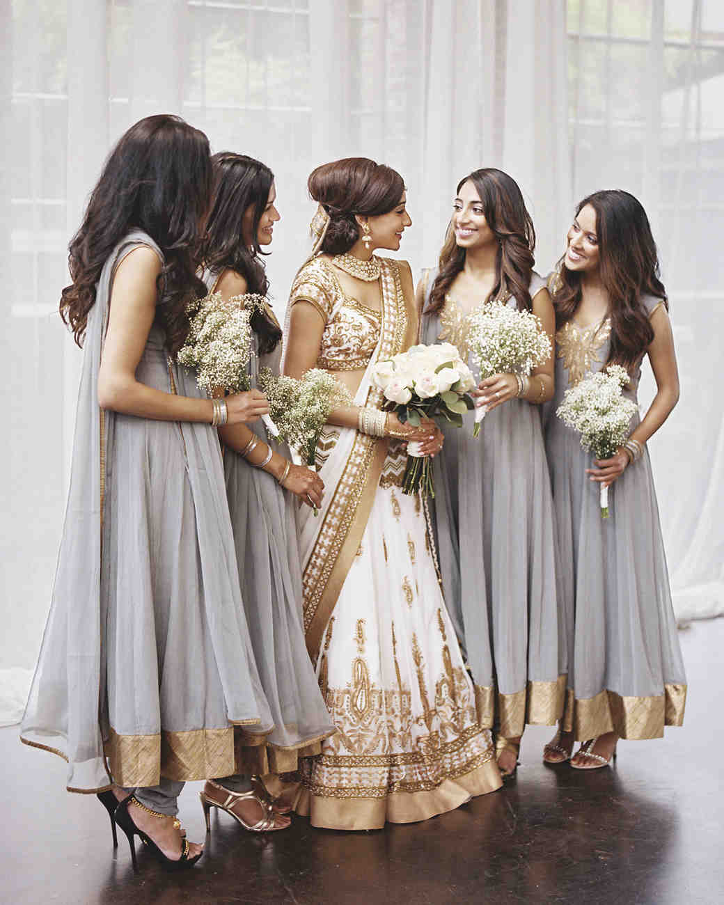 Indian Party Hairstyles: Sejal And Narayana's Understated Indian Wedding