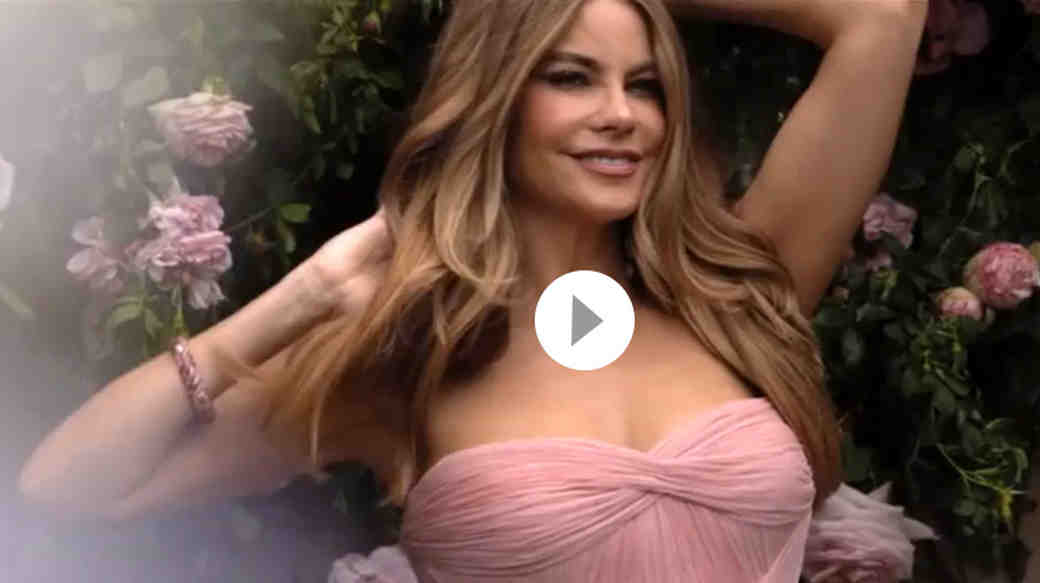 How to Get Sofia Vergara's Pretty in Pink Wedding Makeup Look