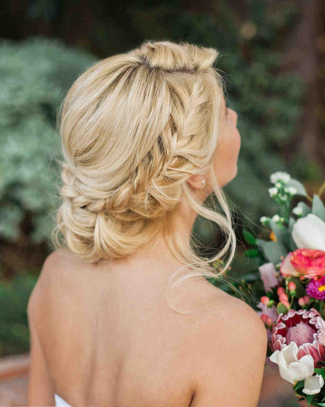 10 Ways To Upgrade The Wedding Braid Martha Stewart Weddings
