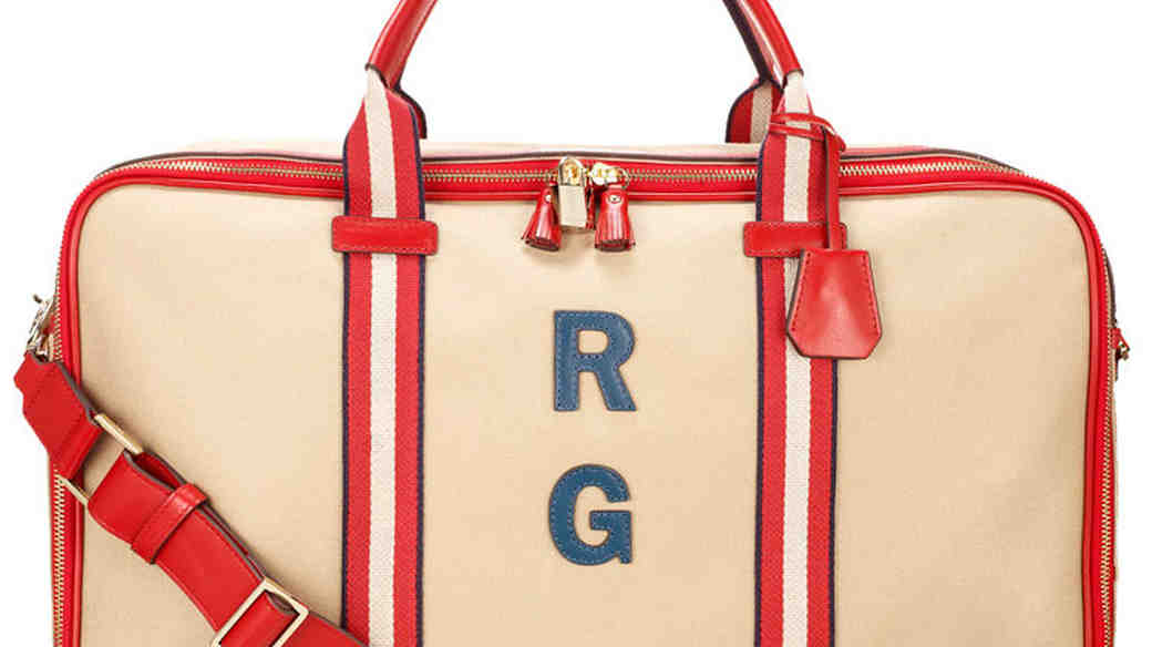walton bag with initials