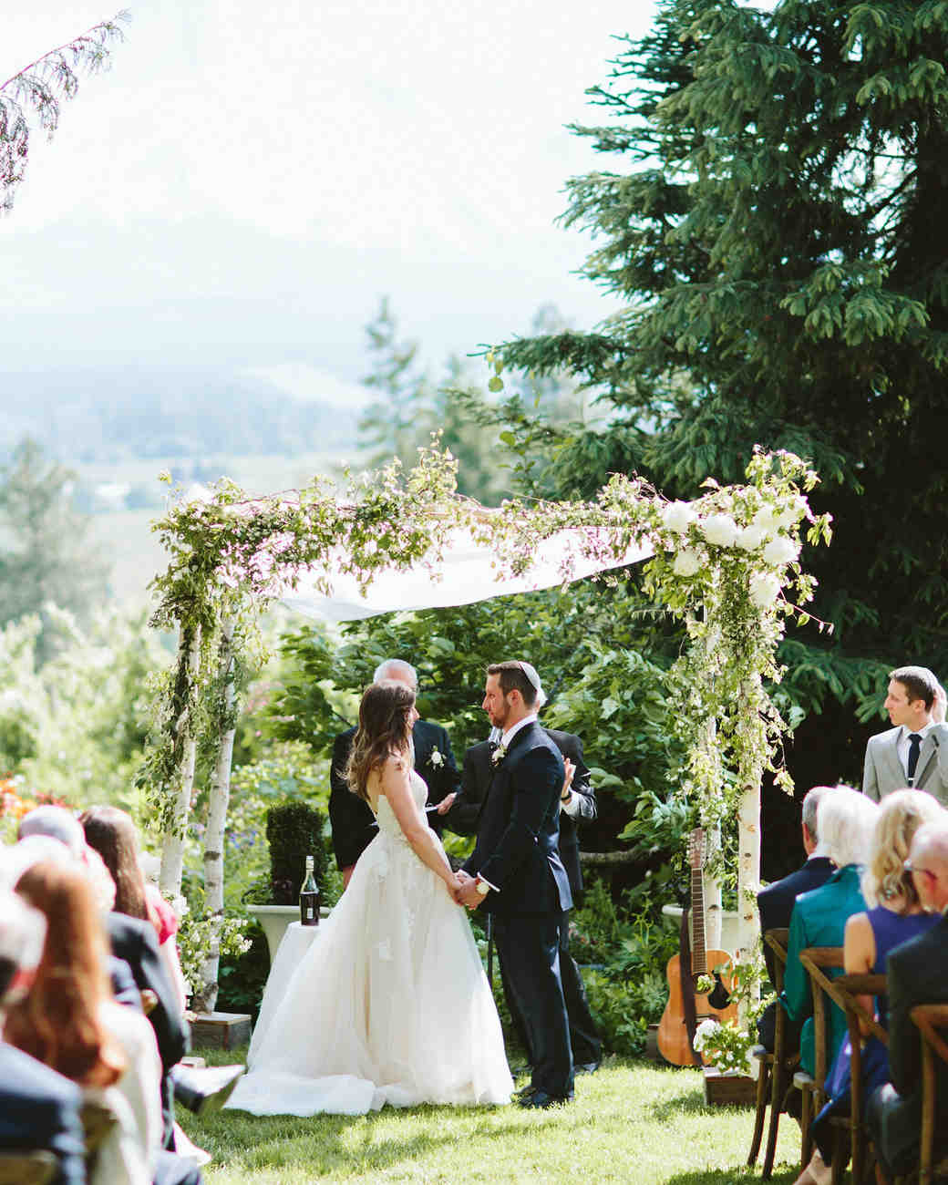 Wedding Ceremony: A Scenic, Nature-Inspired Wedding In Oregon