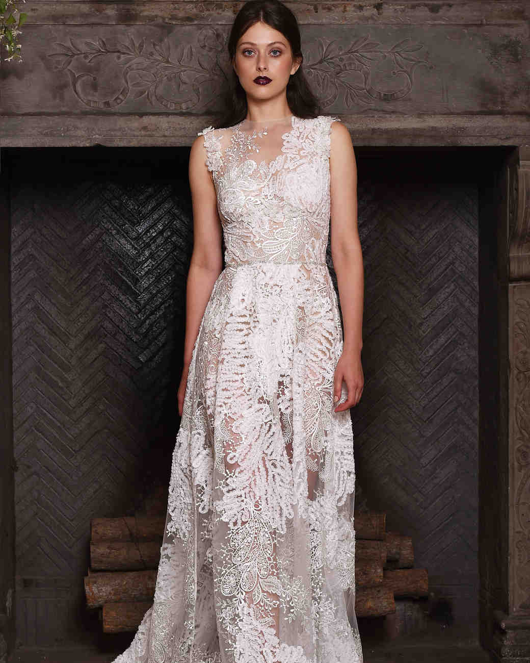 Claire Pettibone Fall 2017 Wedding Dress Collection