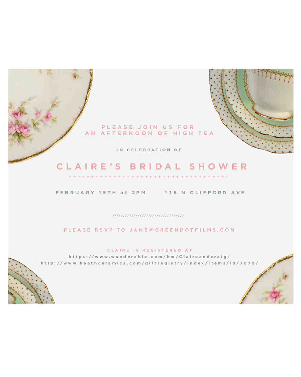 a bridal shower tea party for the kitchy kitchen's claire thomas