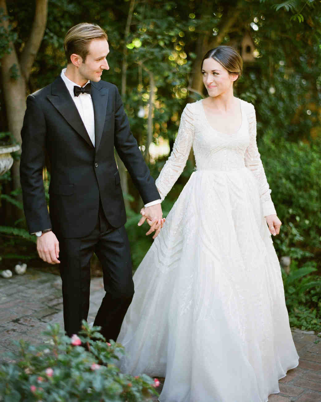 A Backyard Garden Wedding In San Marino
