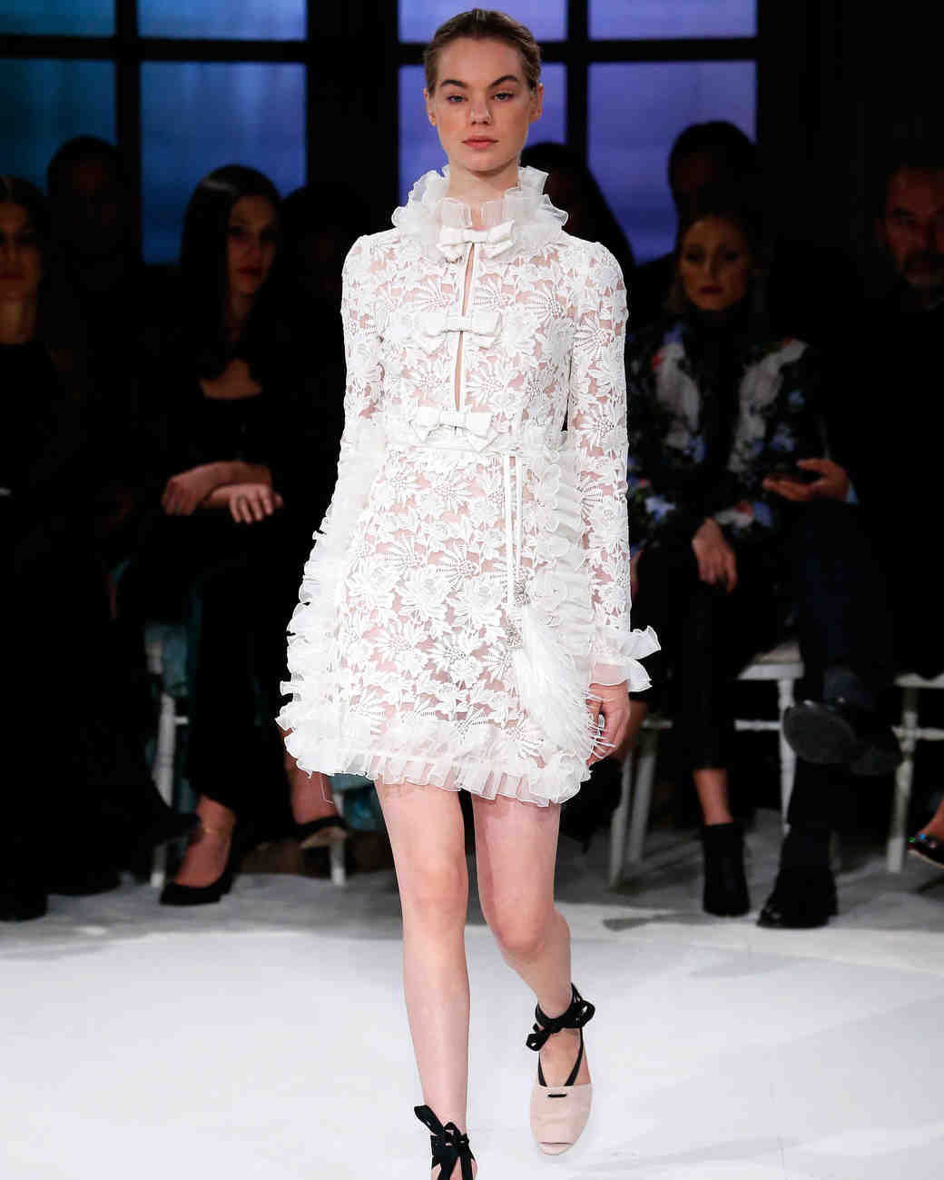 Spring couture dress