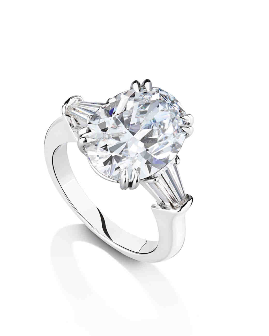 Harry Winston Oval Engagement Ring