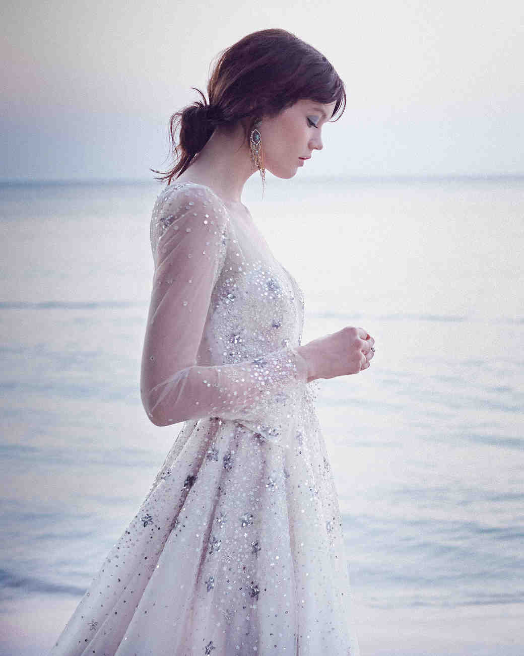 hayley paige ivory ball gown