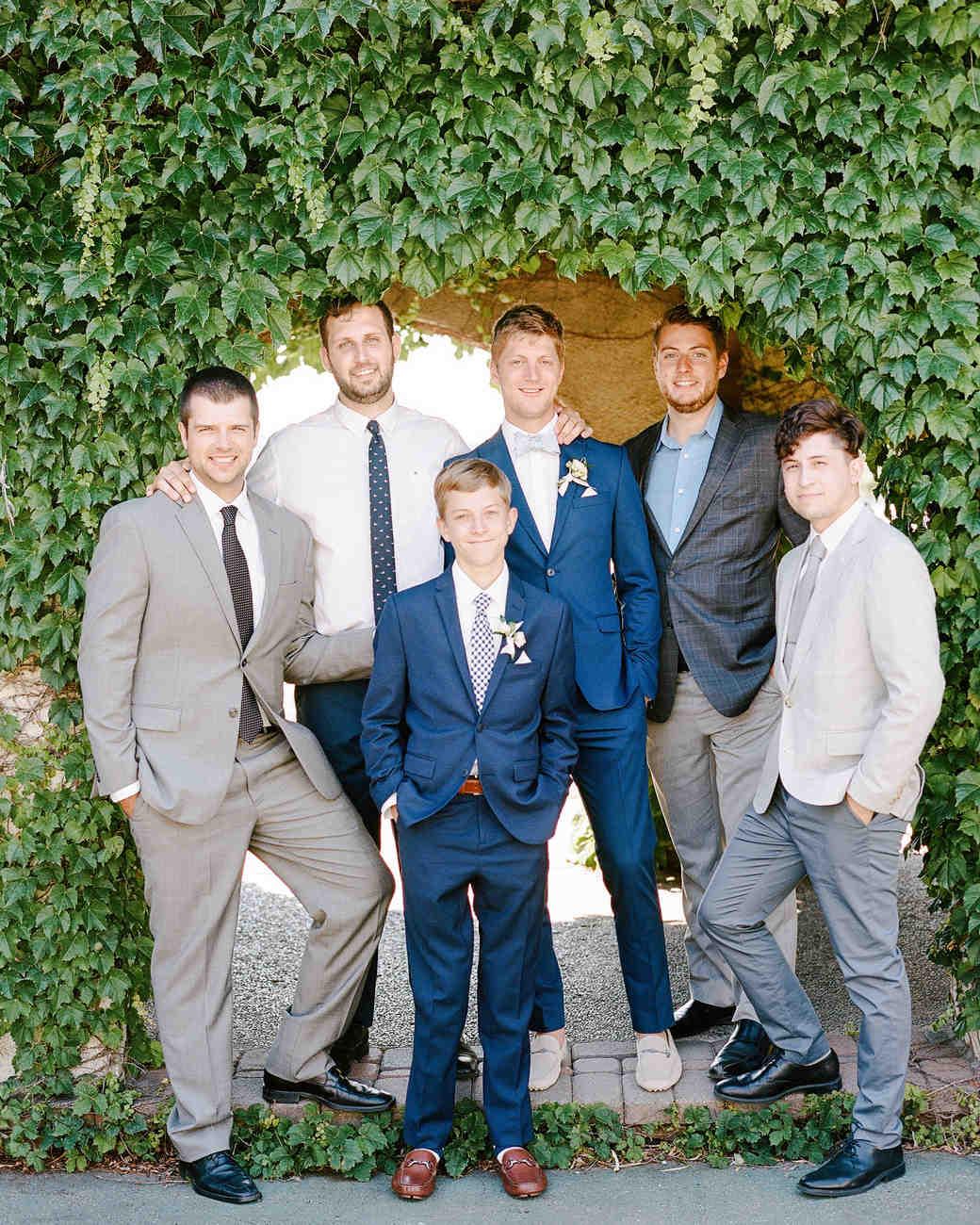 izzy tom wedding groomsmen