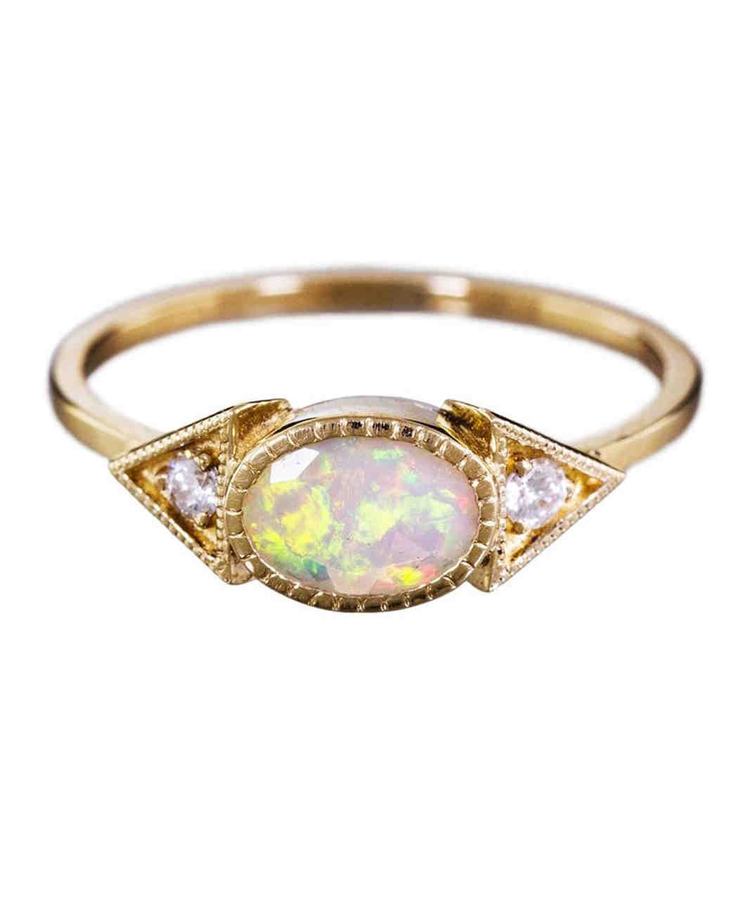 Opal Engagement Rings Opal Engagement Rings ...