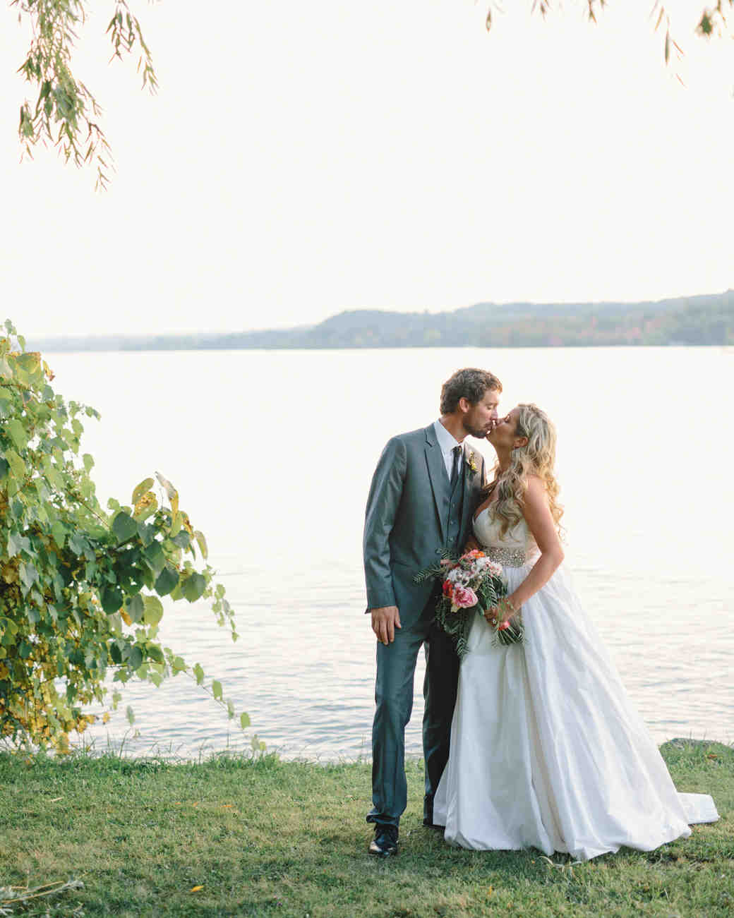 Lizzy and Bucky's Lakeside Michigan Destination Wedding