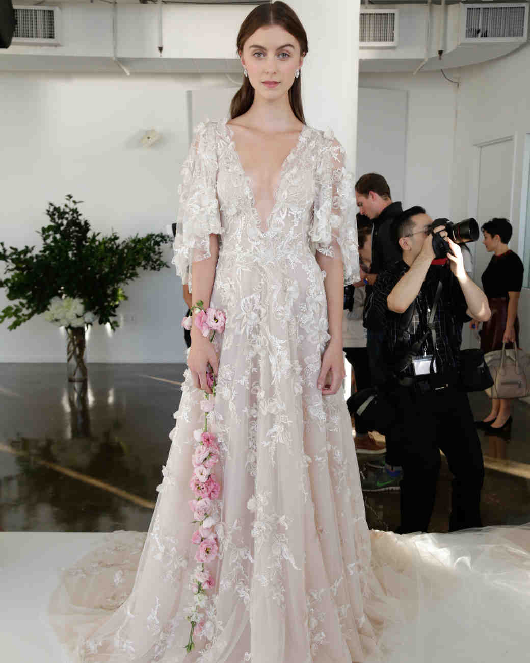Marchesa wedding dress 10 Fall 2017