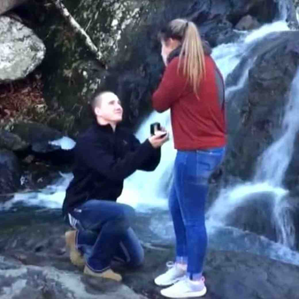 Engagement Ring dropped in river