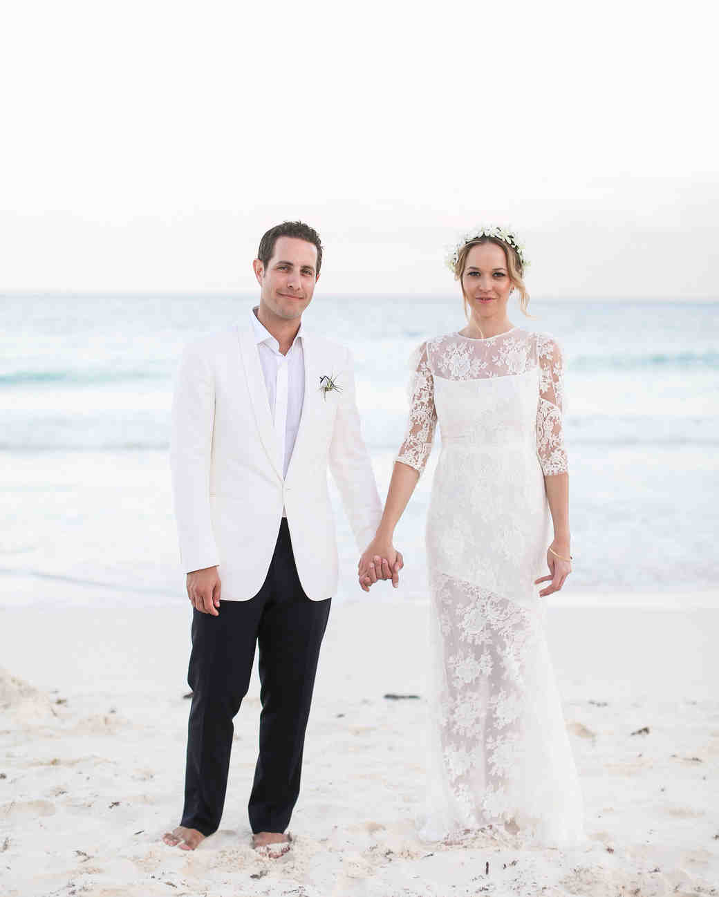 Olivia and Keith's Dia de los Muertos Beach Wedding