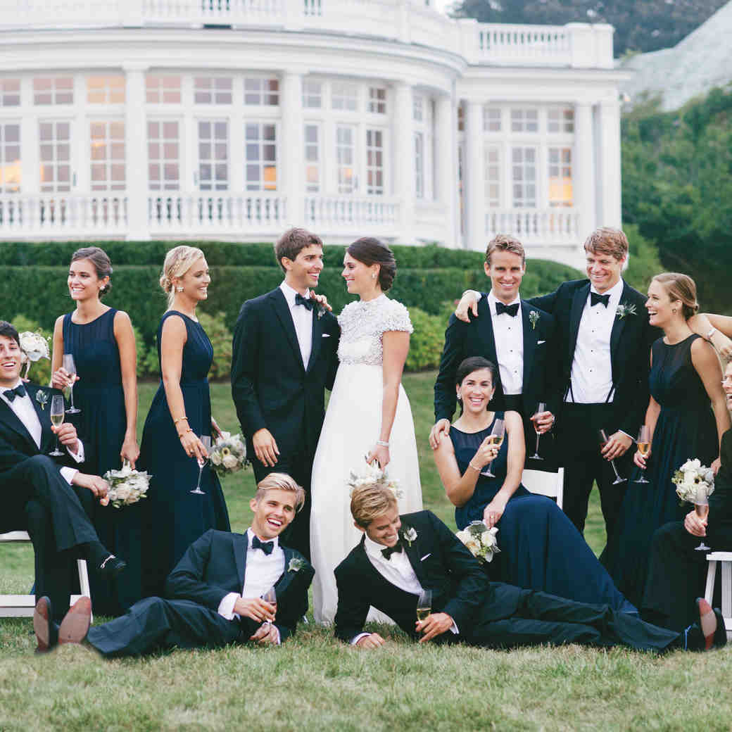 Preppy Wedding Party