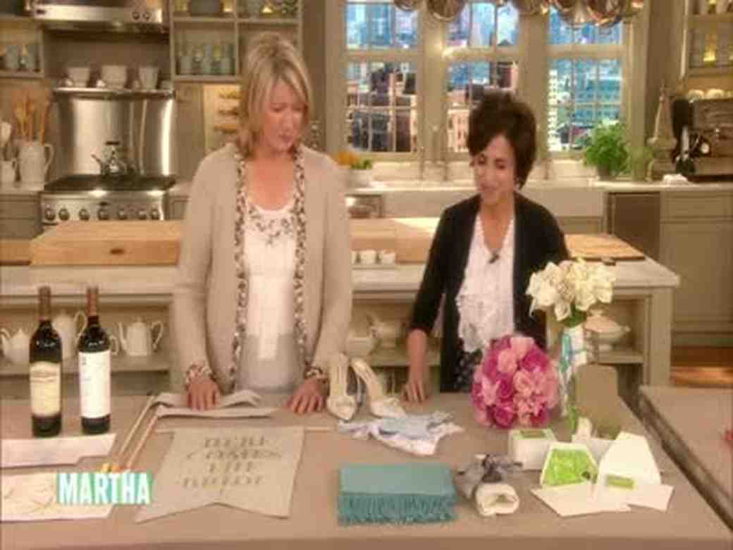 Wedding Planning Ideas: Martha Stewart Weddings