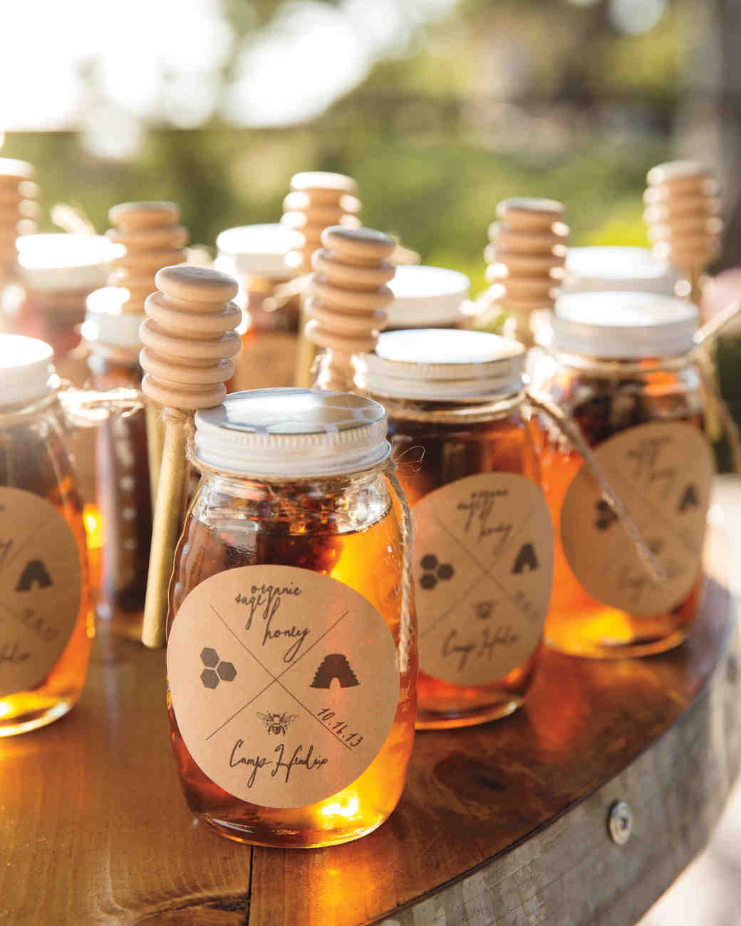 Custom Honey Jars