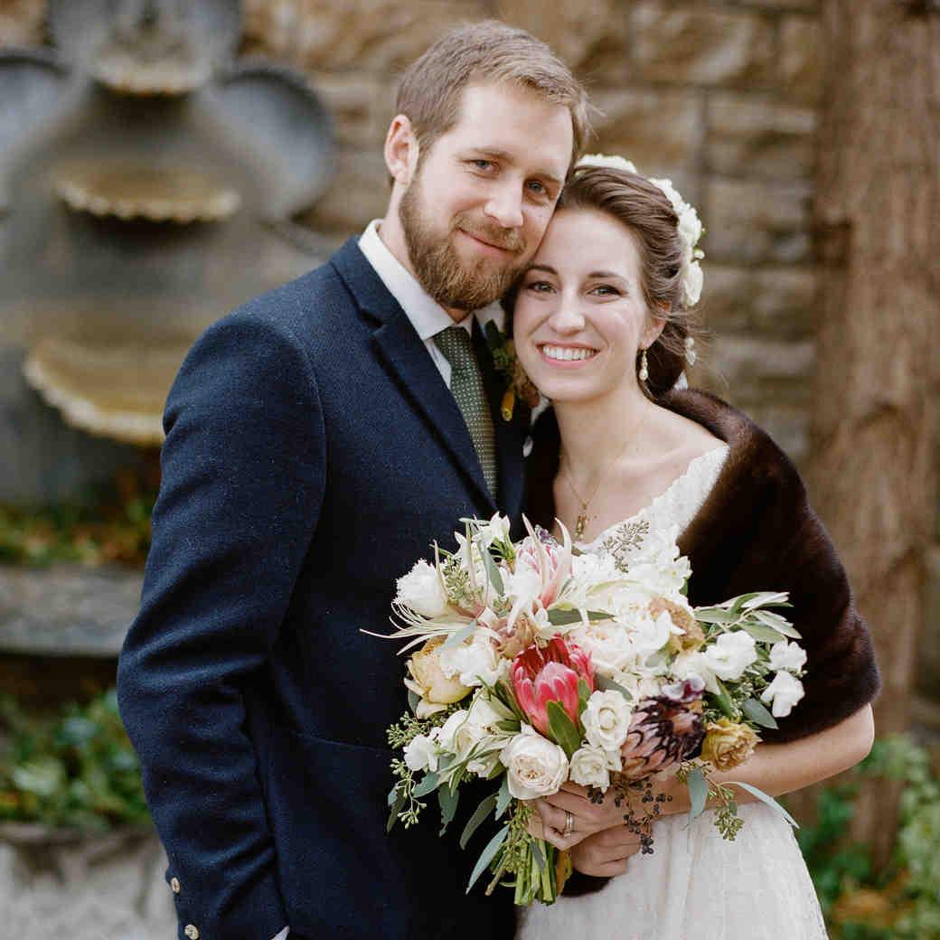 Sidney and Dane's Vintage-Inspired Kentucky Wedding