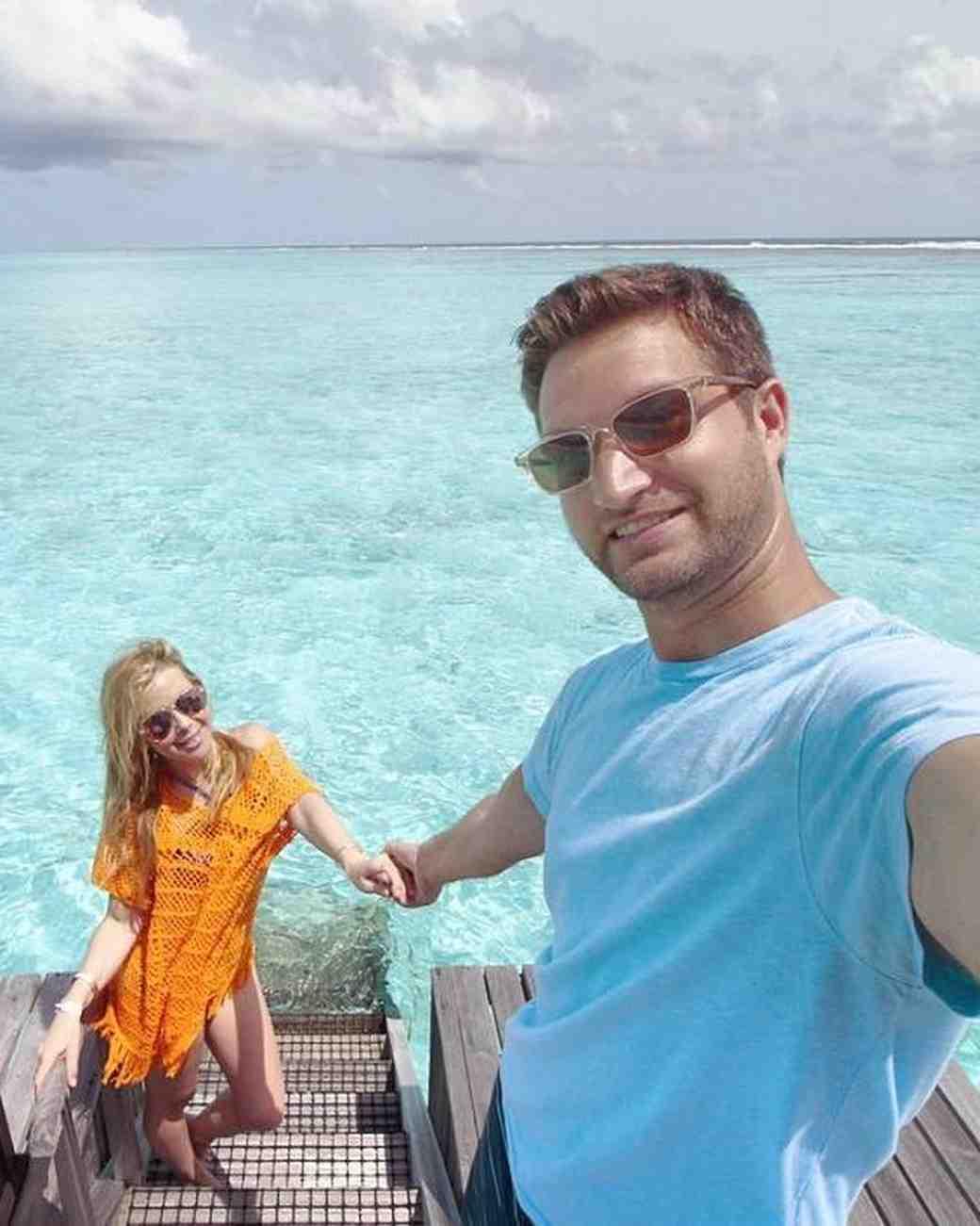 Tara Lipinski's honeymoon with Todd Kapostasy