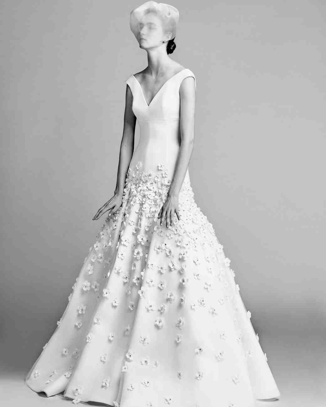 exclusive first look viktor rolf fall 2017 wedding dress