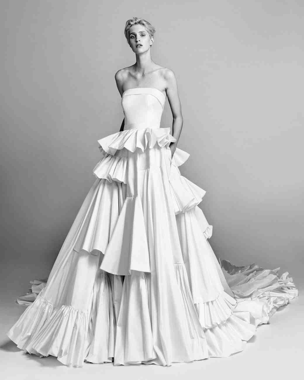 exclusive first look viktor rolf fall 2017 wedding dress collection martha stewart weddings. Black Bedroom Furniture Sets. Home Design Ideas