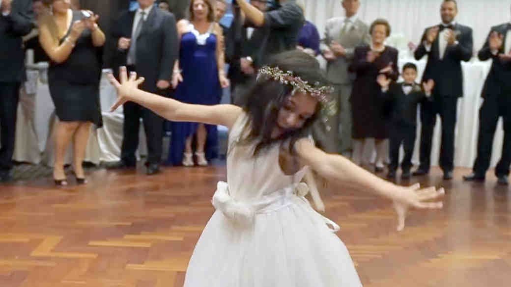 12 Hilarious Videos of Kids Who (Accidentally) Stole the Bride's Spotlight