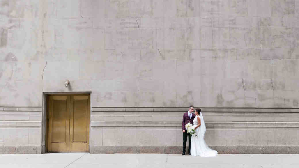 Go Inside This Chicago Speakeasy Wedding