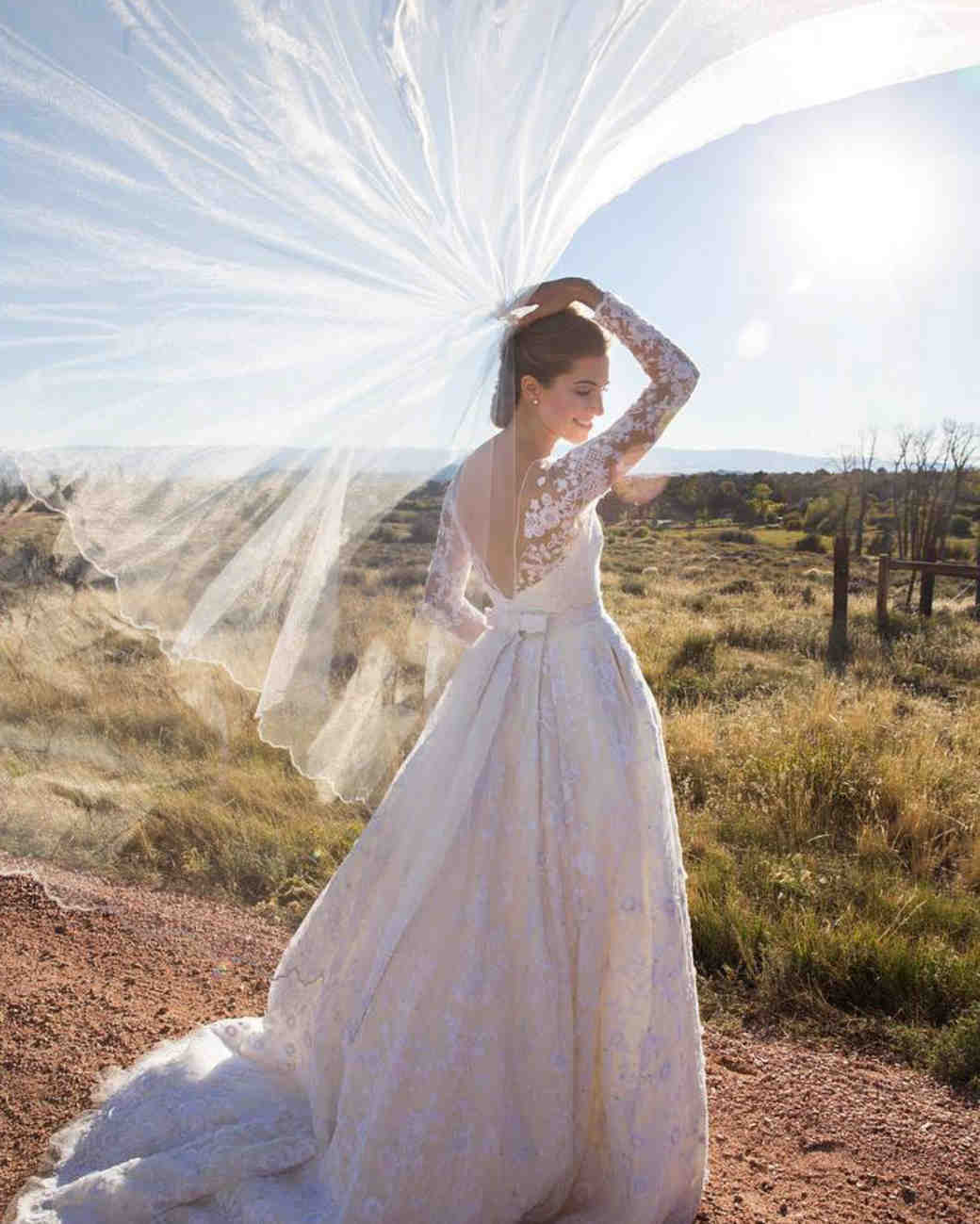 Allison Williams wedding hair