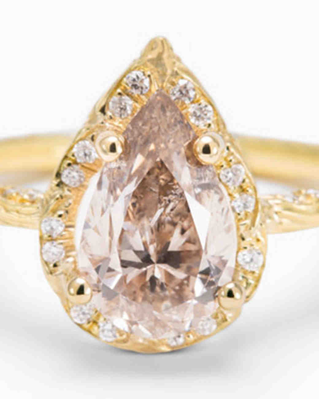 Digby & Iona Pear-Cut Engagement Ring