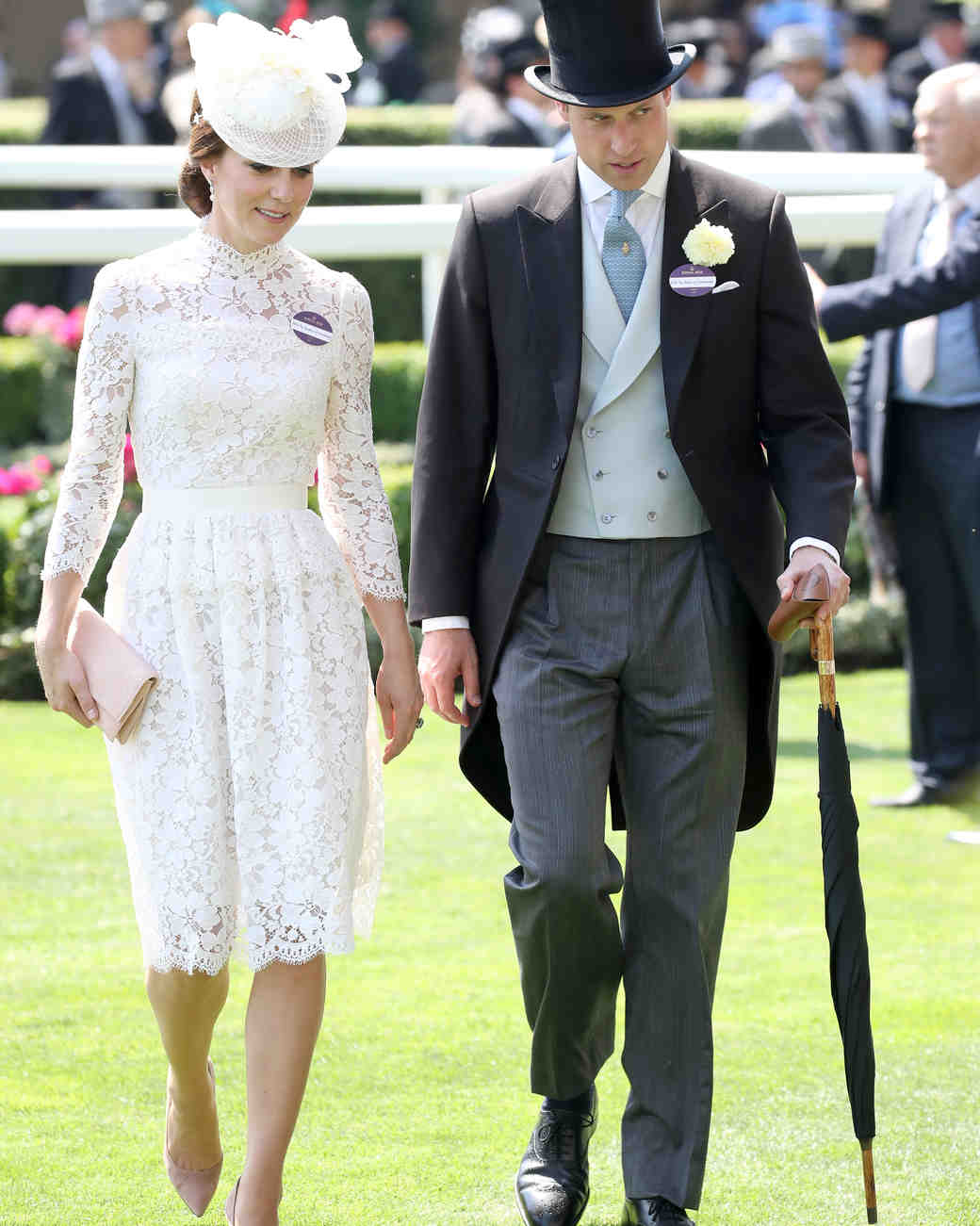 Duchess Kate and Prince William at Royal Ascot 2017