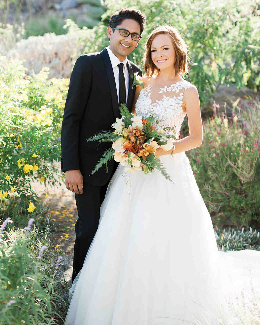 a quintessentially palm springs wedding martha stewart