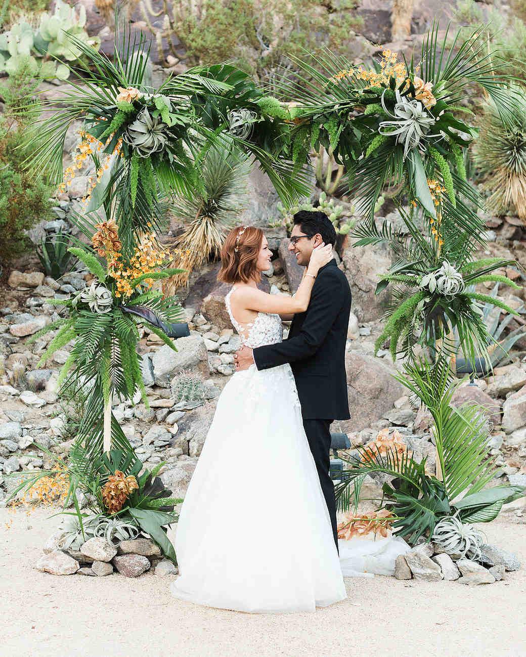 emily adhir wedding couple embrace