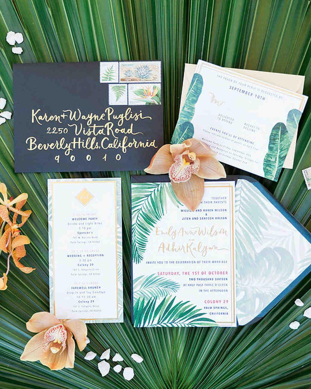 emily adhir wedding invite
