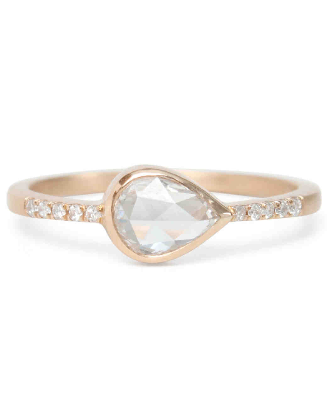 Gillian Conroy Pear-Cut Engagement Ring