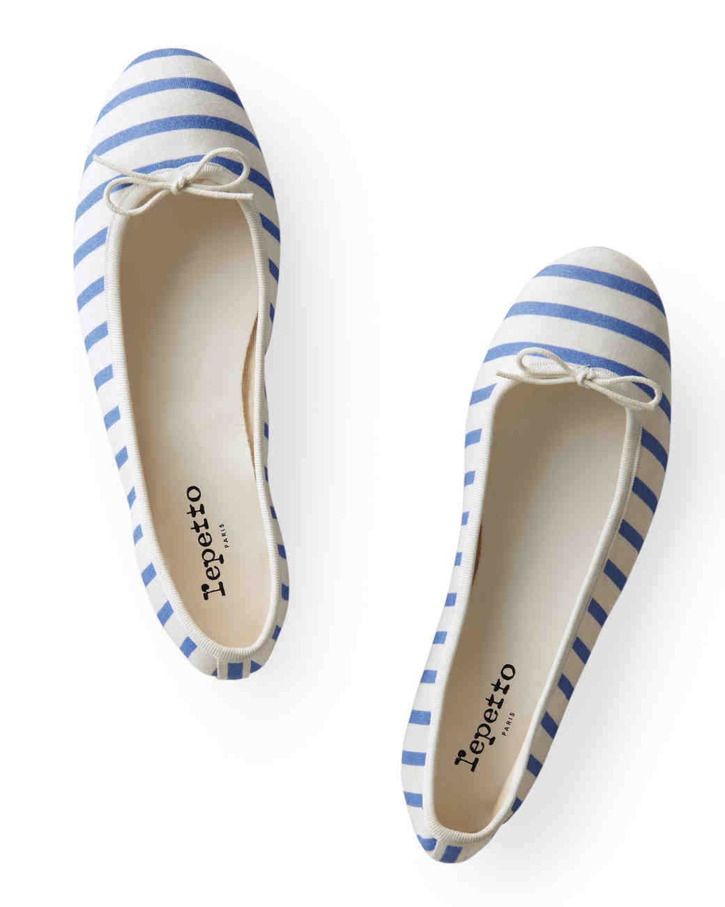 Nautical Striped Flats