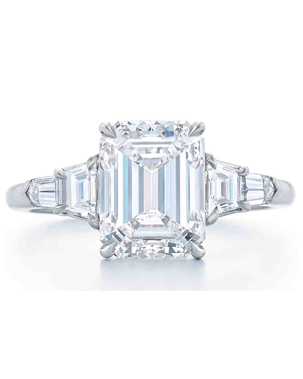 Kwiat Emerald-Cut Engagement Ring