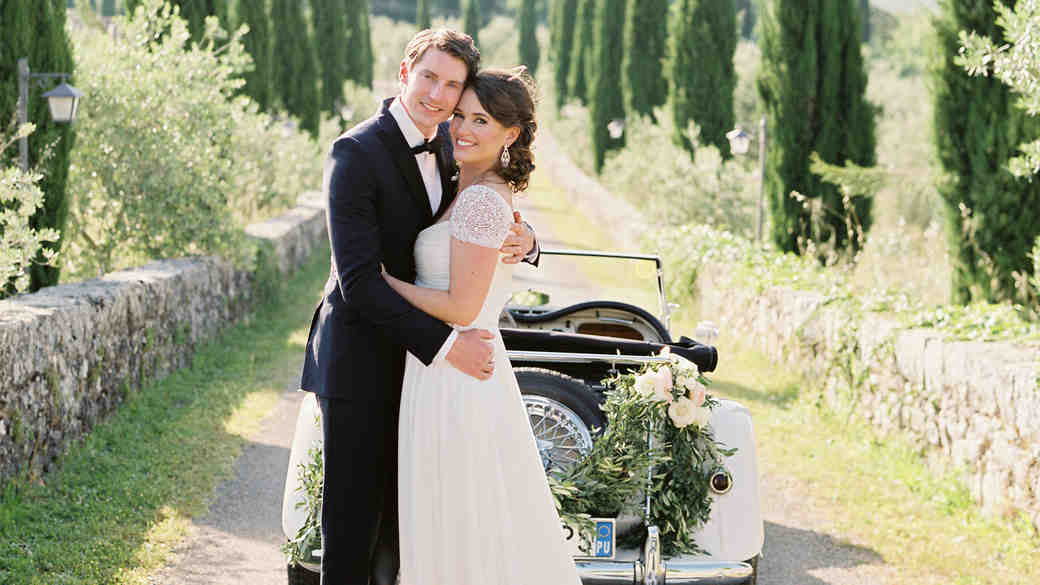 Lauren and Ollie's Tuscan Wedding