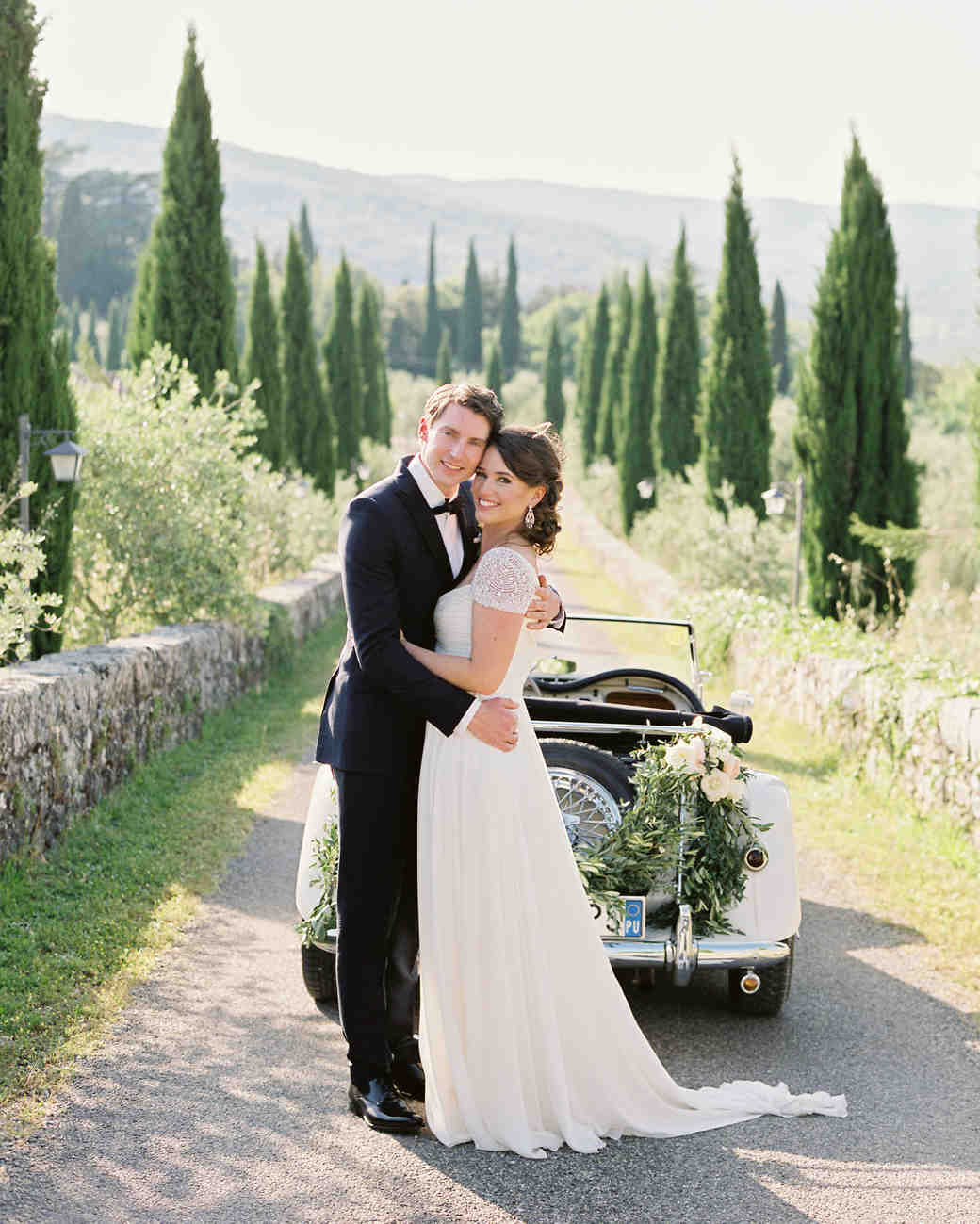 Italian Weddings: Lauren And Ollie's Tuscan Wedding