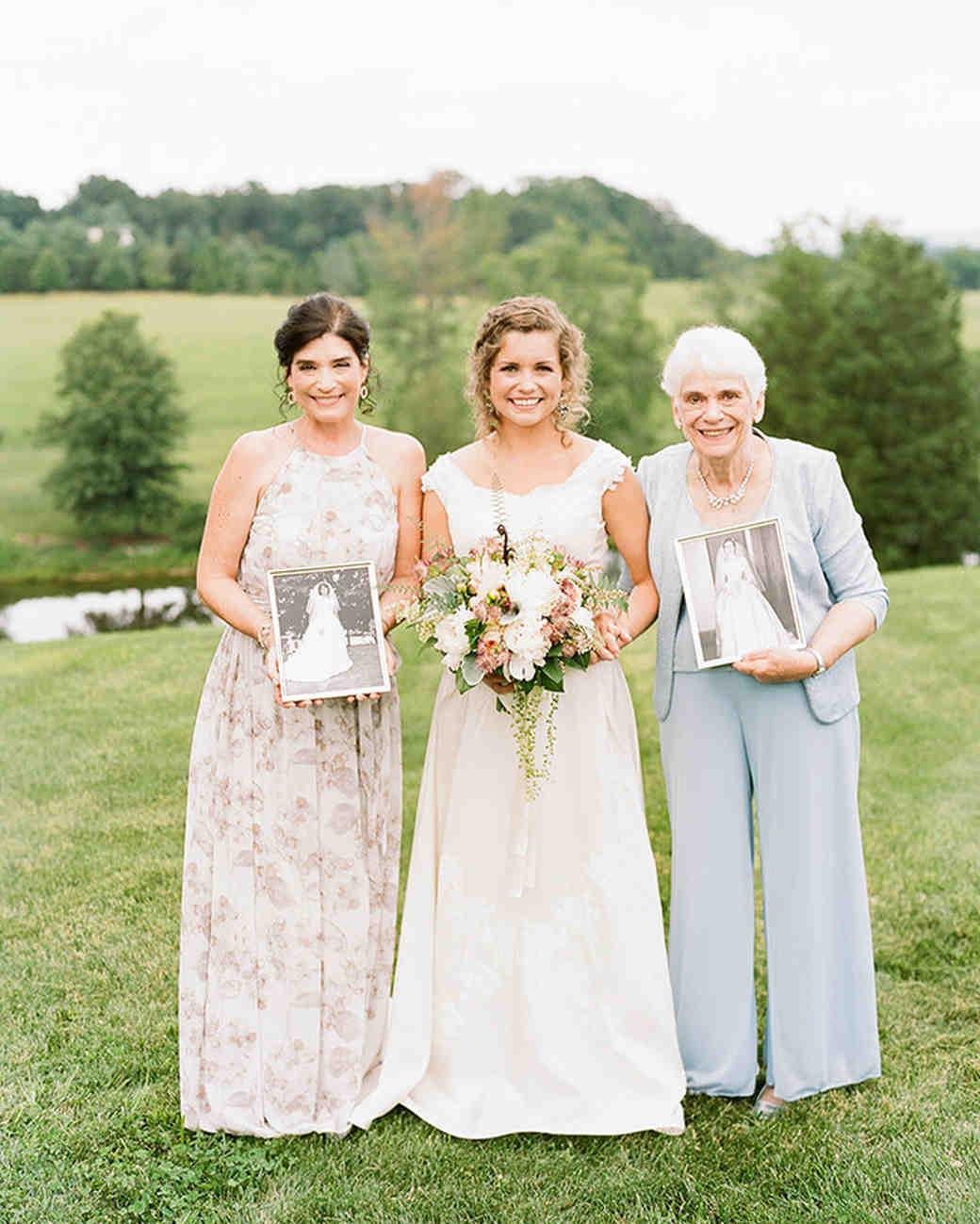 Wedding Gown For Parents: 55 Heartwarming Mother-Daughter Wedding Photos