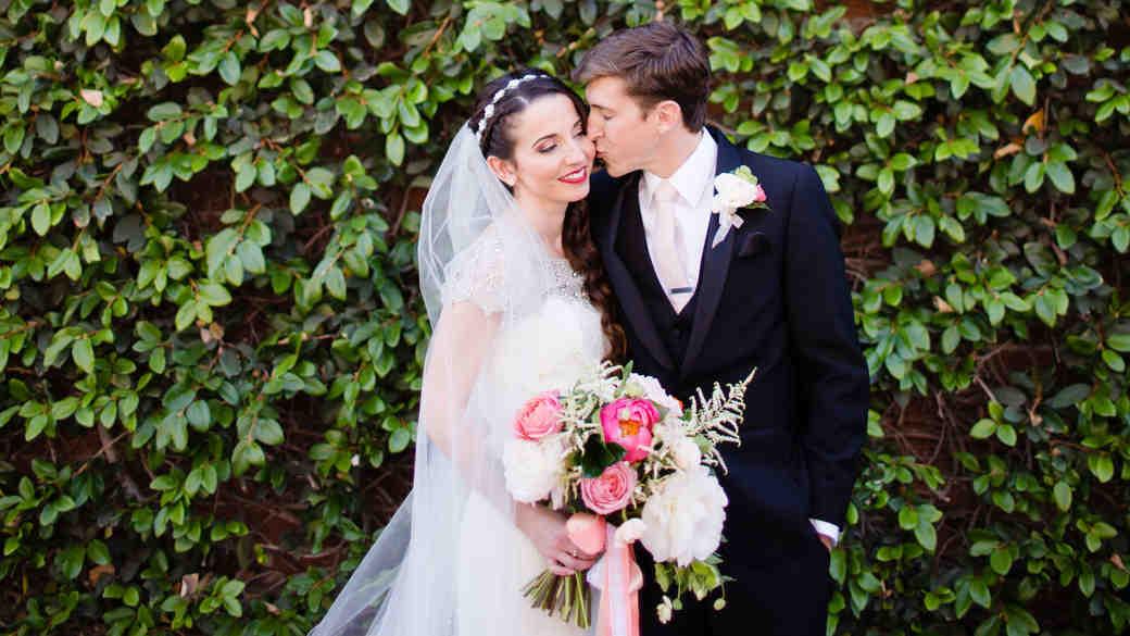 A Pink, Kate Spade-Inspired California Wedding