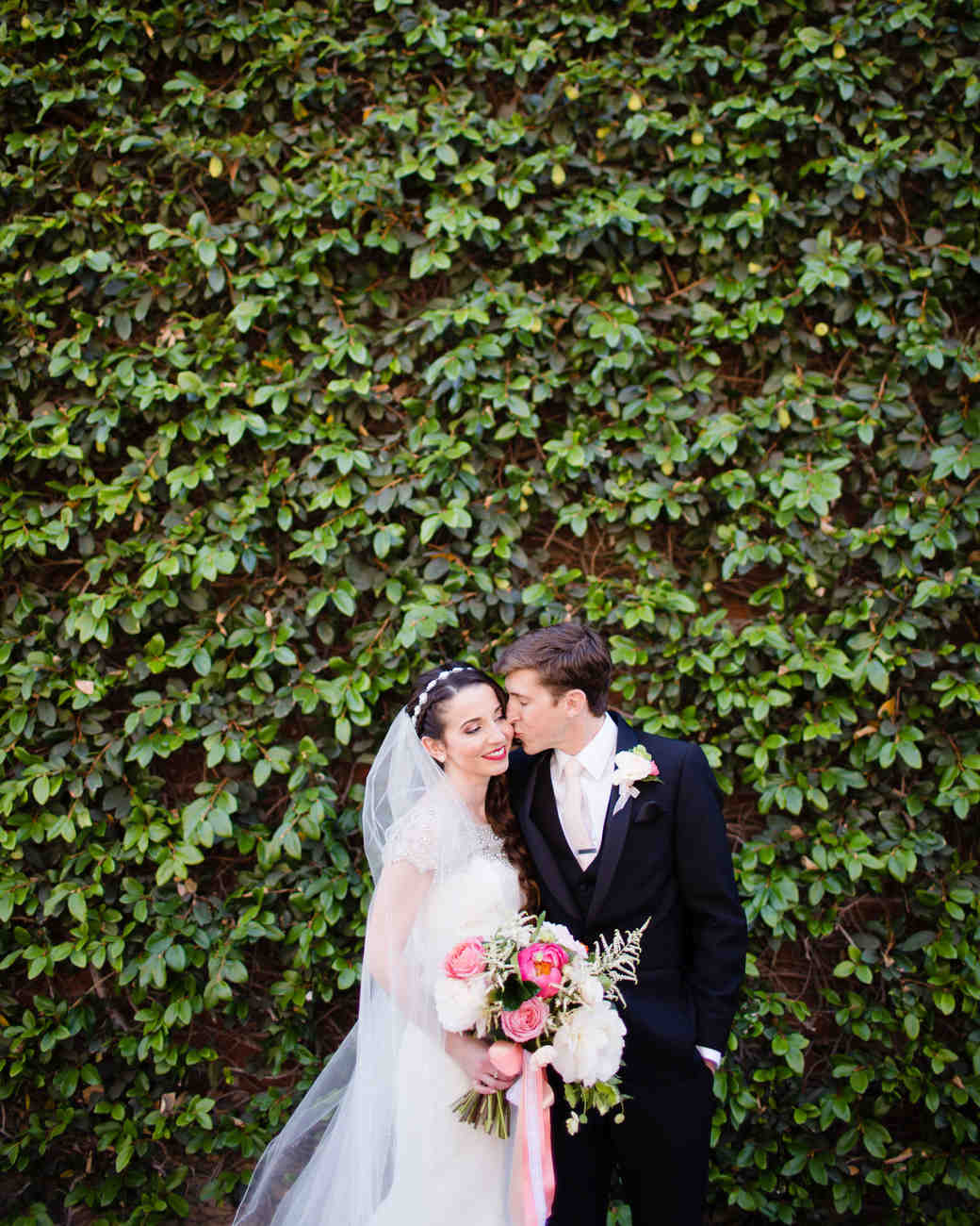 A Pink, Kate Spade-Inspired California Wedding