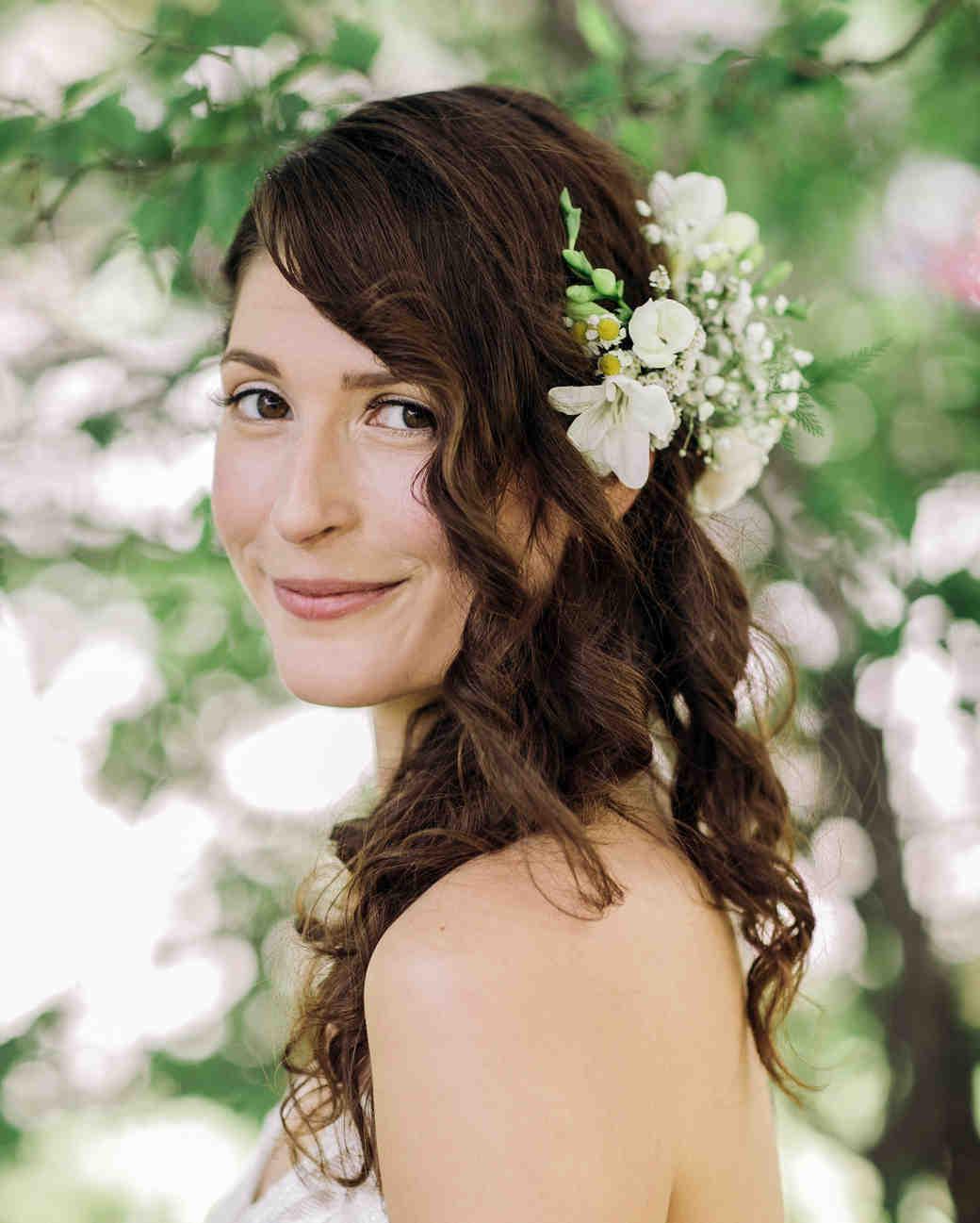 Astounding 14 Pinterest Worthy Wedding Hairstyles For Curly Hair Martha Hairstyles For Men Maxibearus