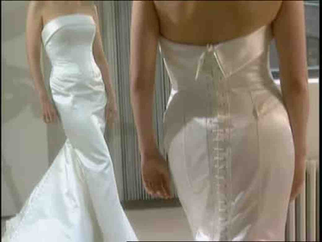 Vera Wang Designs Darcy Miller's Wedding Gown