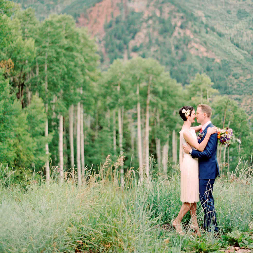 """Whitney and Matt's """"Perfectly Imperfect"""" Wedding in Colorado"""