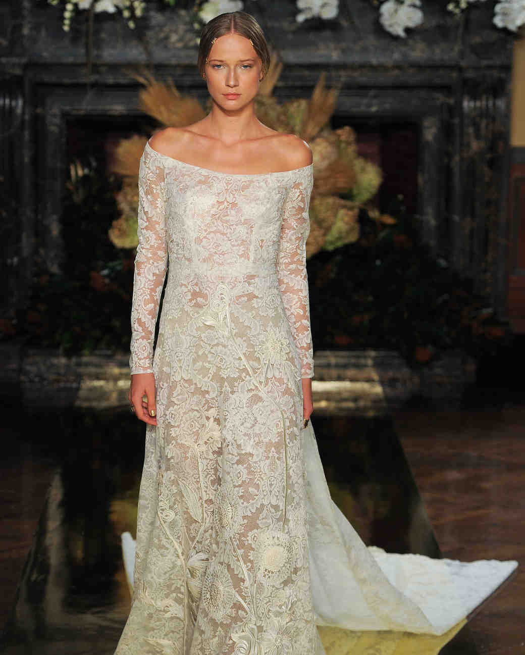 Long-Sleeve Wedding Dresses We Love - Martha Stewart Weddings
