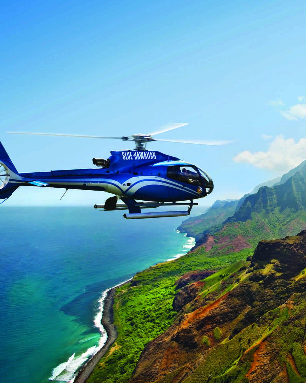 Aerial tour of The Big Island, Hawaii