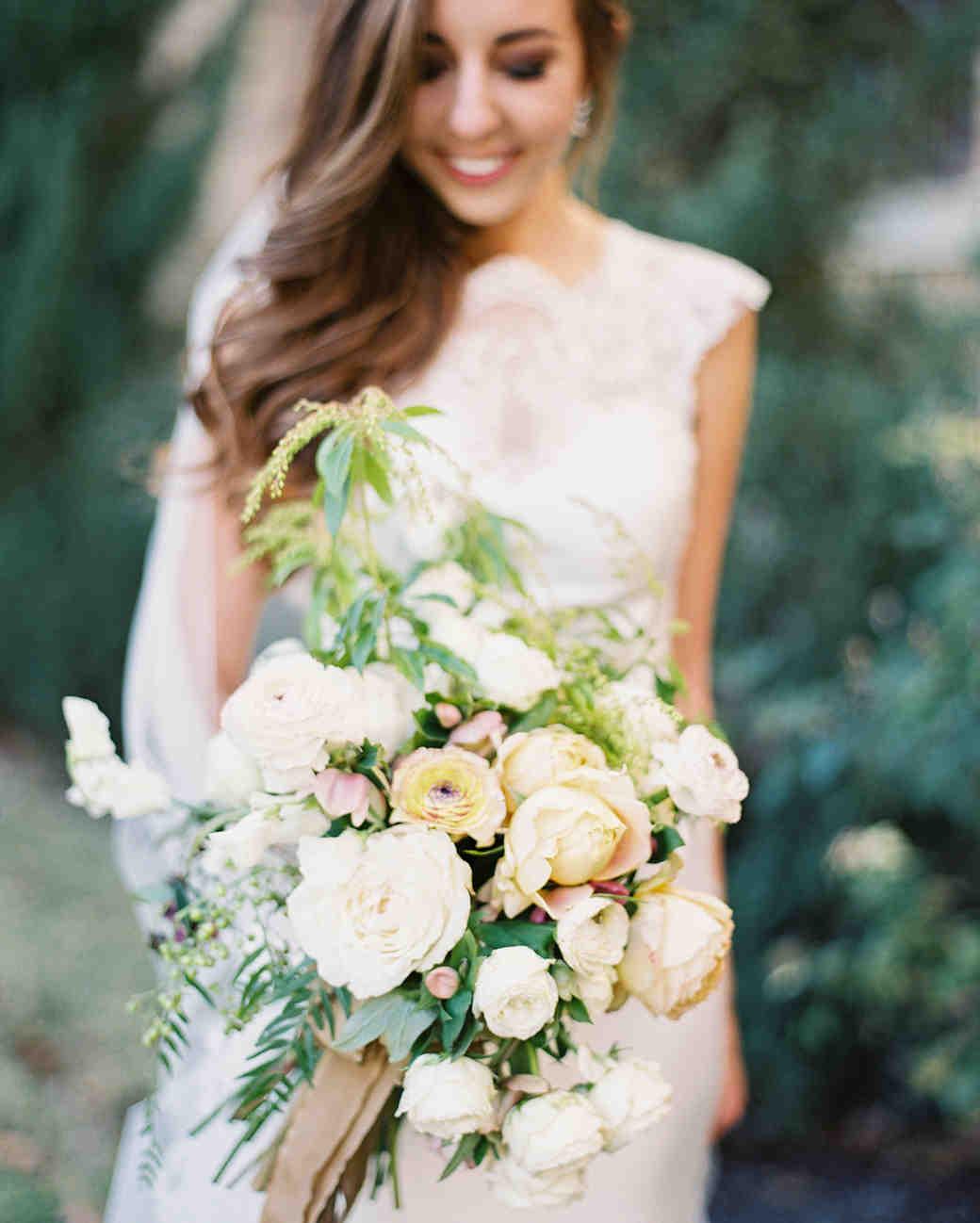 afton travers wedding bouquet
