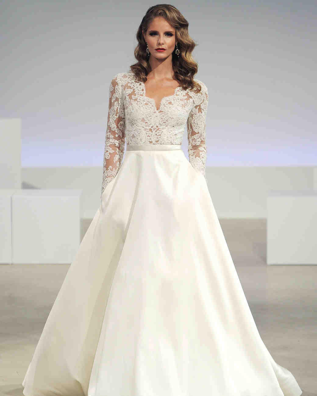 46 pretty wedding dresses with pockets martha stewart weddings